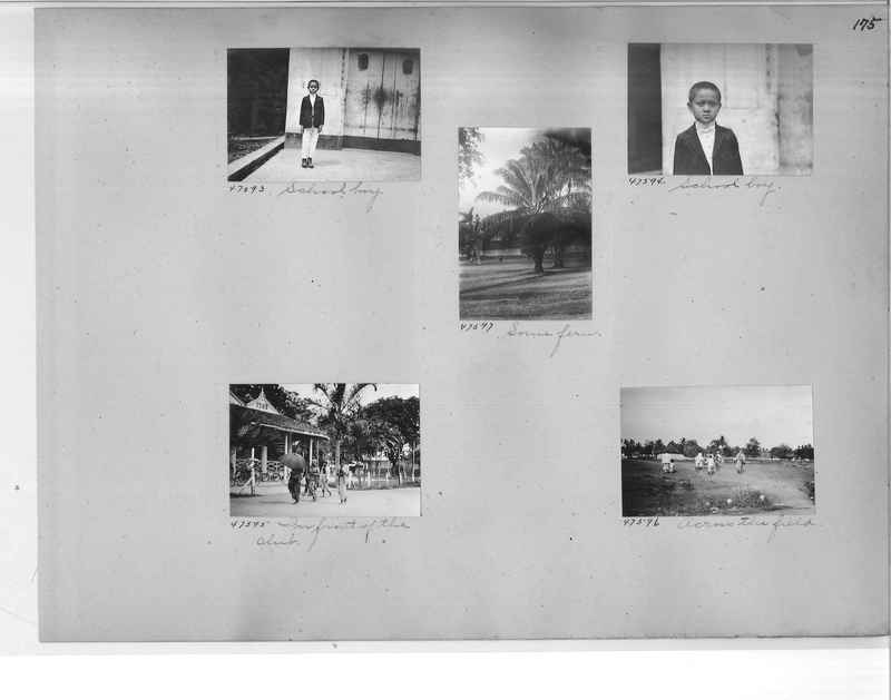 Mission Photograph Album - Malaysia #4 page 0175