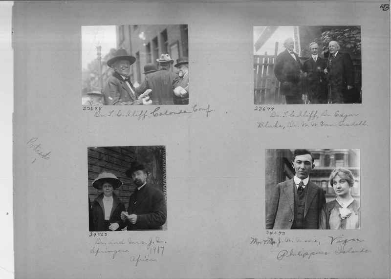 Mission Photograph Album - Portraits #1 page 0043