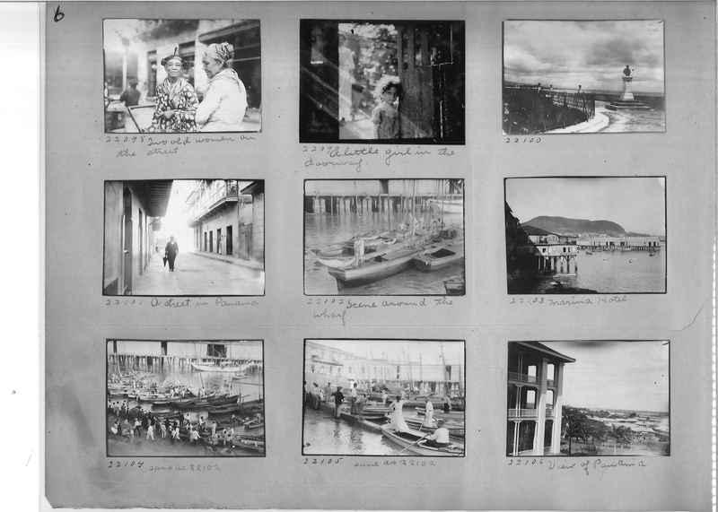 Mission Photograph Album - Panama #02 page 0006