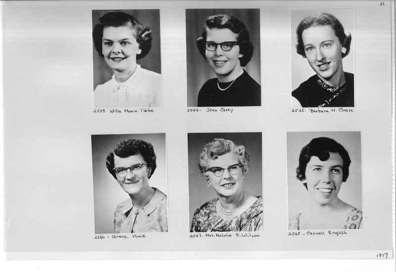 Mission Photograph Album - Portraits #12 Page 0031