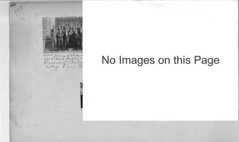 Mission Photograph Album - Education #1 page 0124