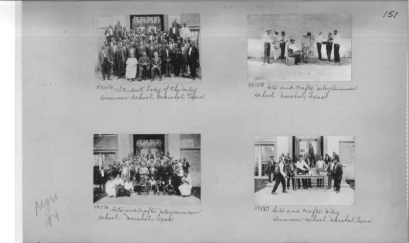 Mission Photograph Album - Negro #4 page 0151