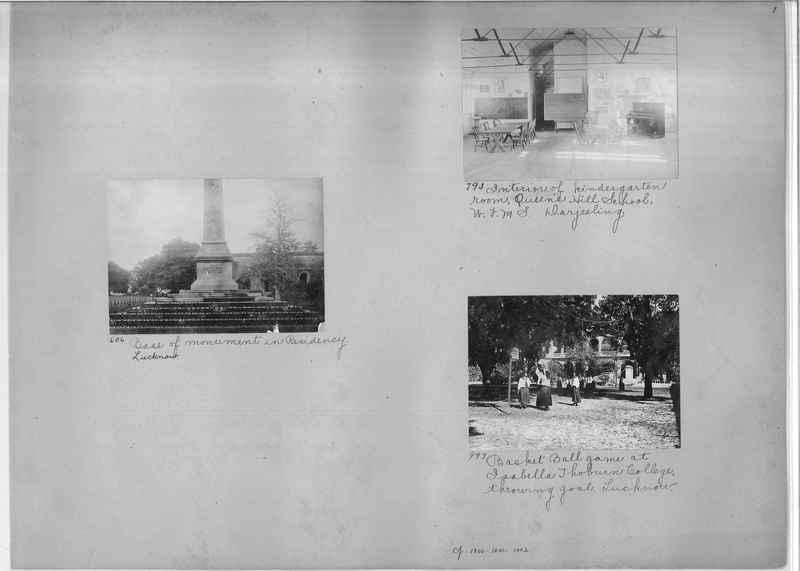 Mission Photograph Album - India #01 page 0001