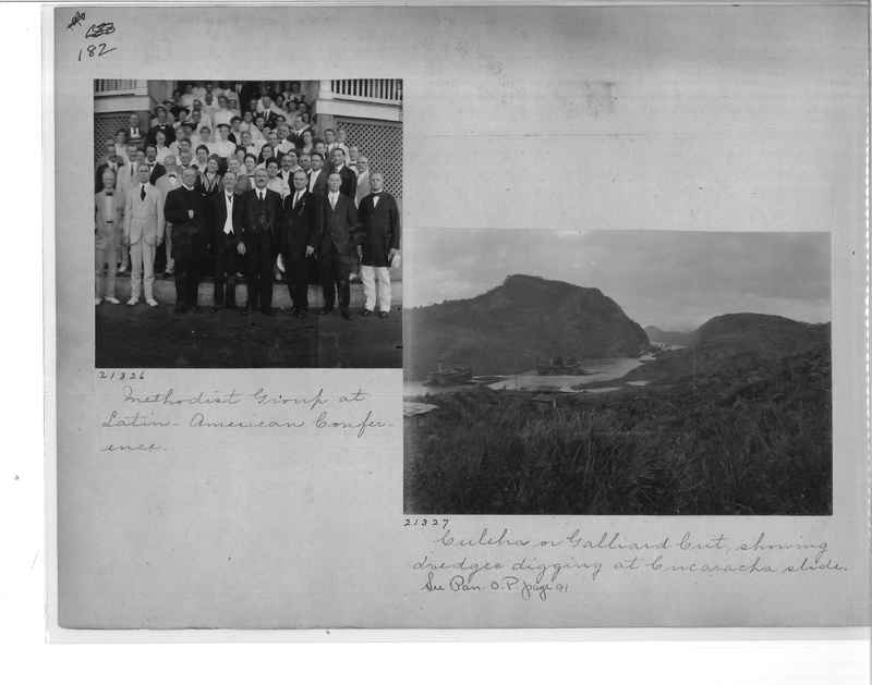 Mission Photograph Album - Panama #1 page  0182