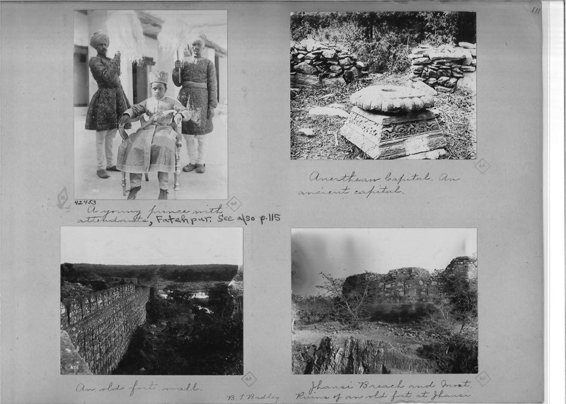 Mission Photograph Album - India - O.P. #02 Page 0111