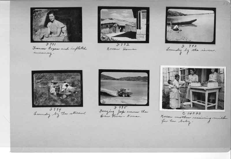 Mission Photograph Album - Korea #6 page 0023