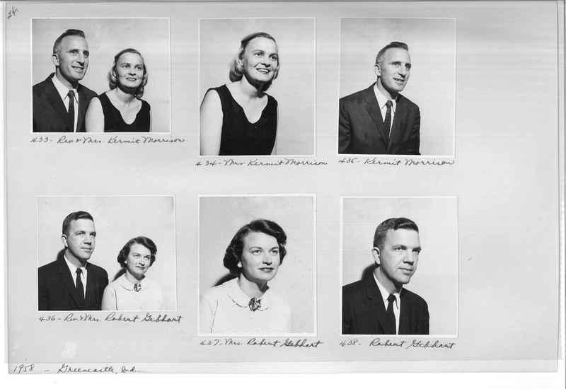 Mission Photograph Album - Portraits #11 Page 0024