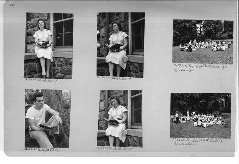 Mission Photograph Album - Portraits #13 Page 0014
