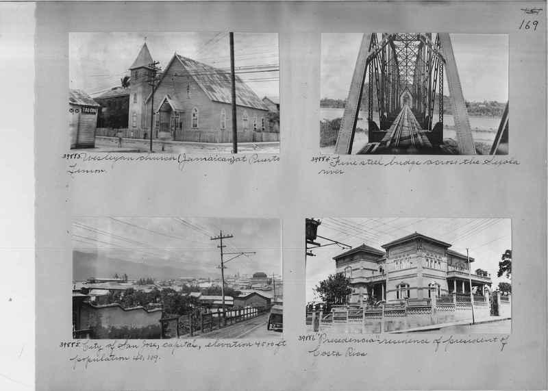 Mission Photograph Album - Panama #02 page 0169