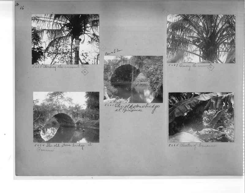 Mission Photograph Album - Panama #1 page  0016