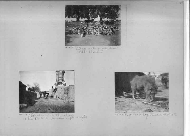 Mission Photograph Album - India #04 page_0047