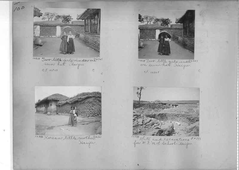 Mission Photograph Album - Korea #1 page 0100