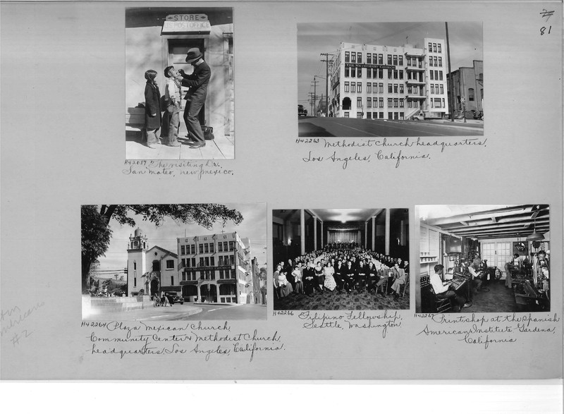 Mission Photograph Album - Latin America #2 page 0081