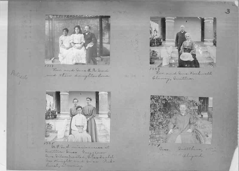 Mission Photograph Album - Portraits #1 page 0003