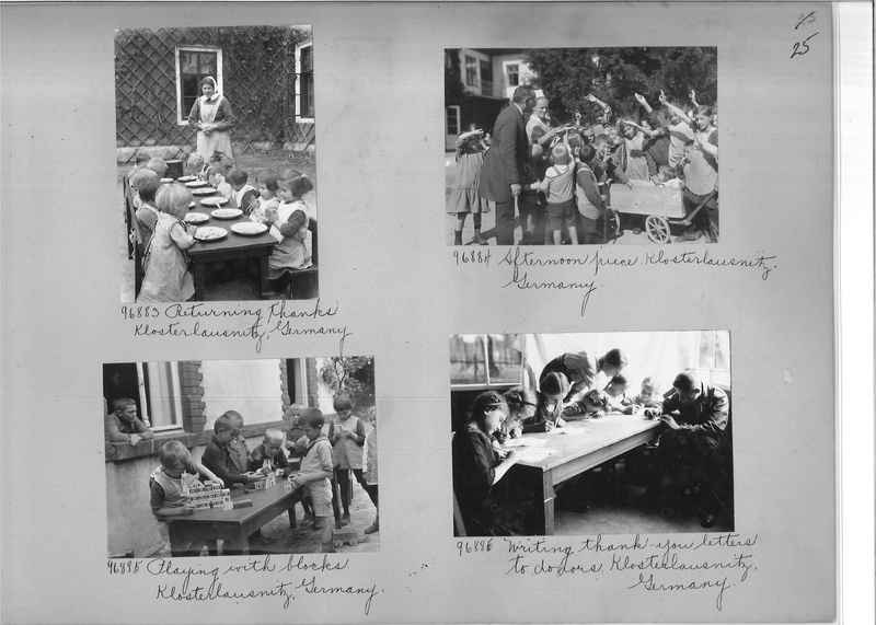 Mission Photograph Album - Europe #09 Page 0025