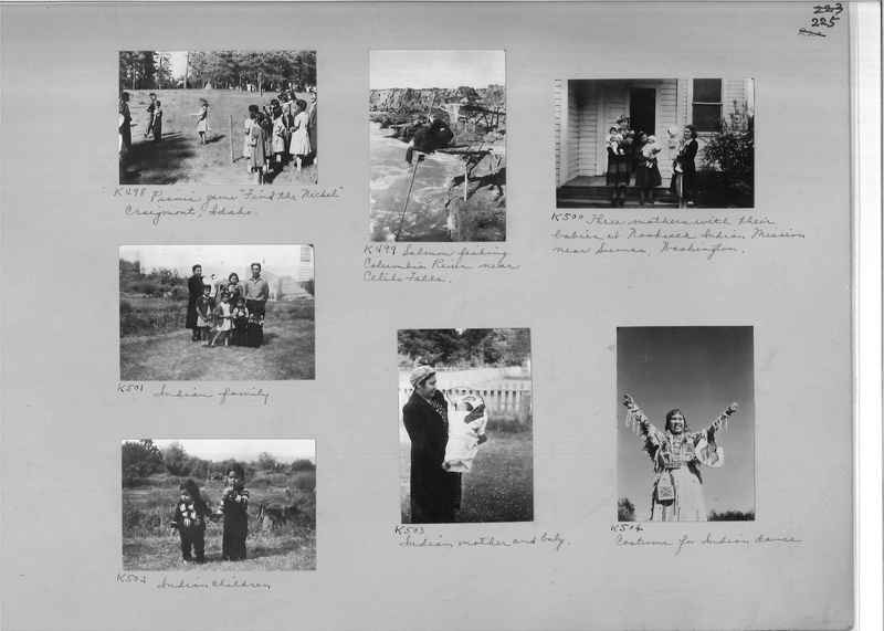 Mission Photograph Album - Indians #2 page_0225