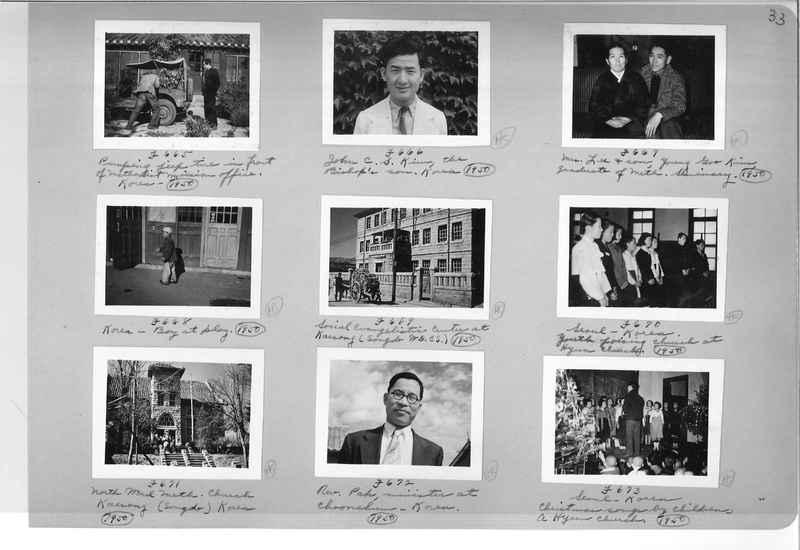 Mission Photograph Album - Korea #6 page 0033
