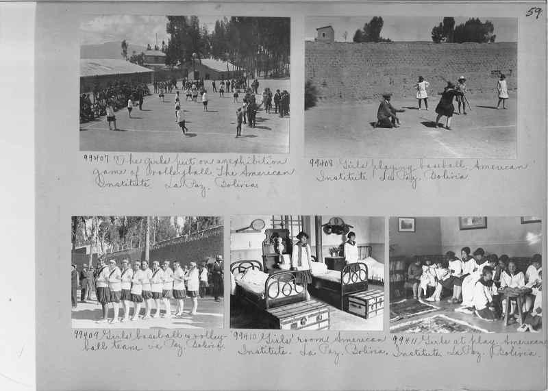 Misson Photograph Album - South America #8 page 0059