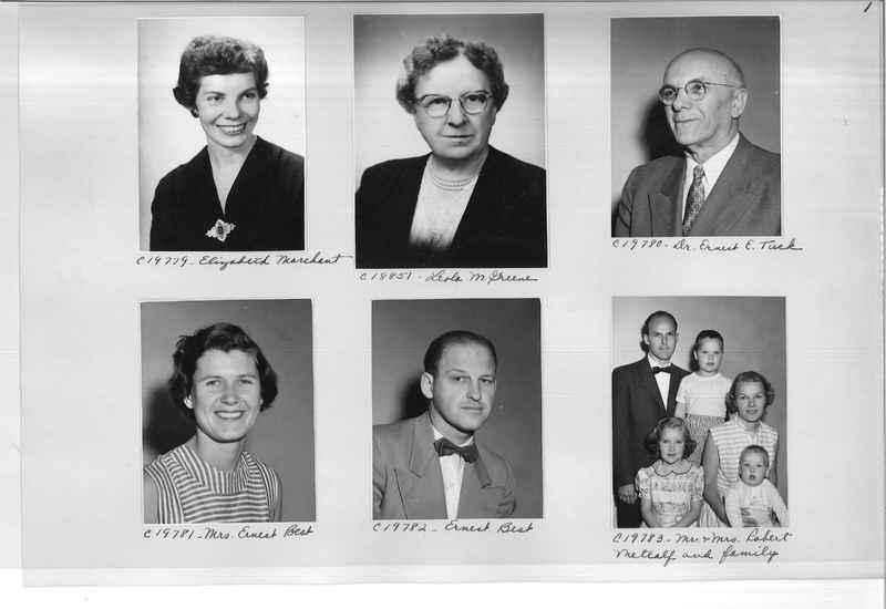 Mission Photograph Album - Portraits #09 Page 0001