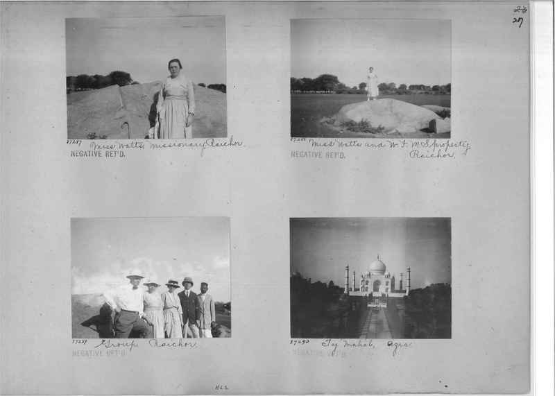 Mission Photograph Album - India #10 Page 0027