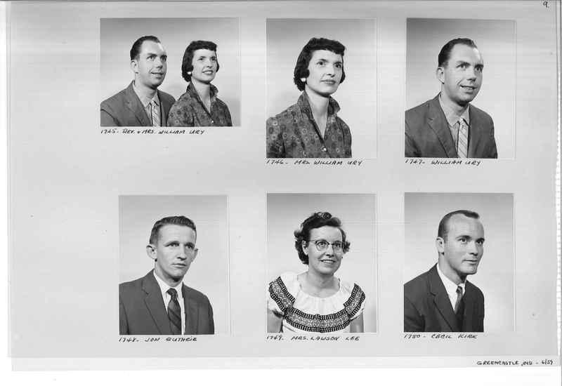 Mission Photograph Album - Portraits #12 Page 0009