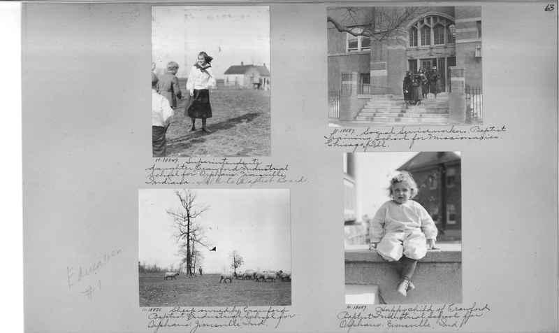 Mission Photograph Album - Education #1 page 0063