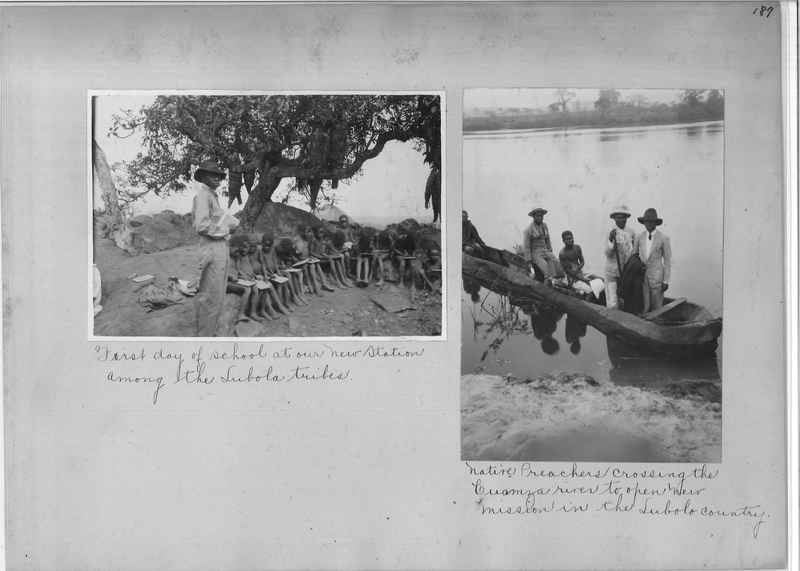 Mission Photograph Album - Africa O.P. #4 page 0187