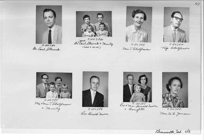 Mission Photograph Album - Portraits #09 Page 0117