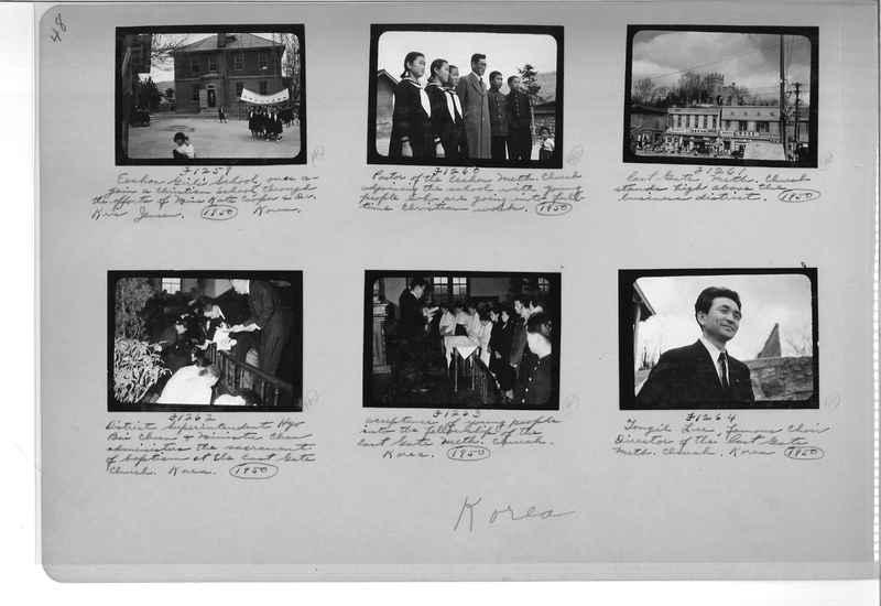 Mission Photograph Album - Korea #6 page 0048