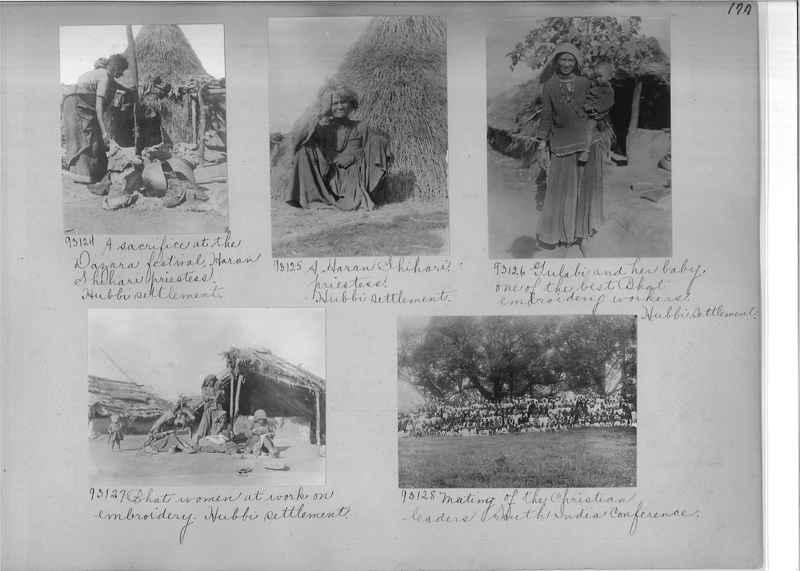 Mission Photograph Album - India #10 Page 0177