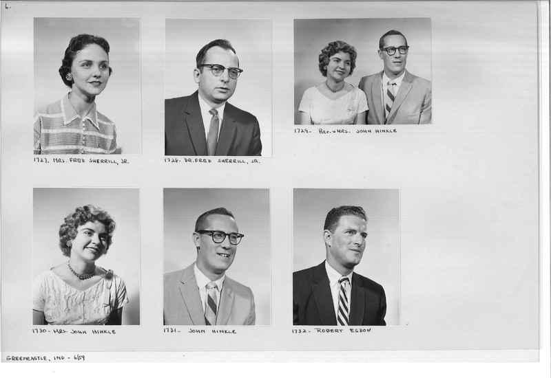 Mission Photograph Album - Portraits #12 Page 0006