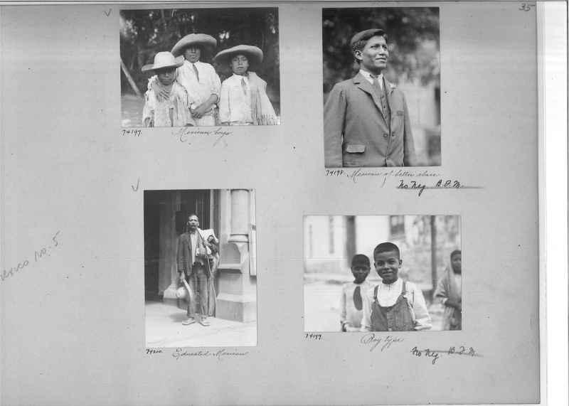 Mission Photograph Album - Mexico #05 page 0035