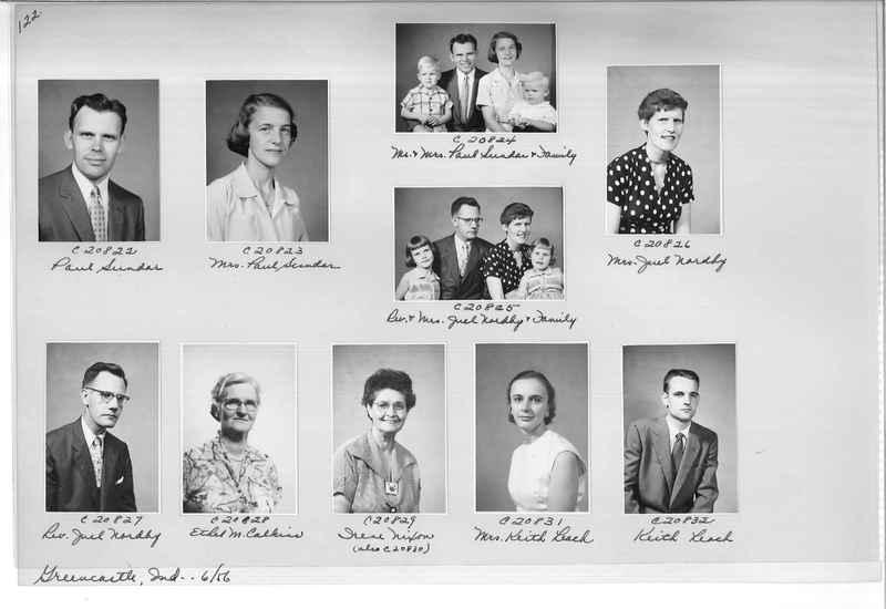Mission Photograph Album - Portraits #09 Page 0122