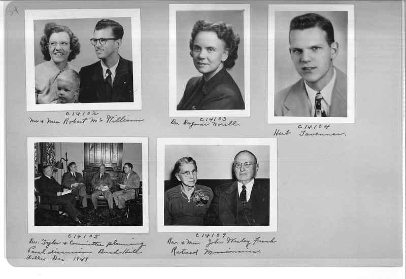 Mission Photograph Album - Portraits #07 Page 0024