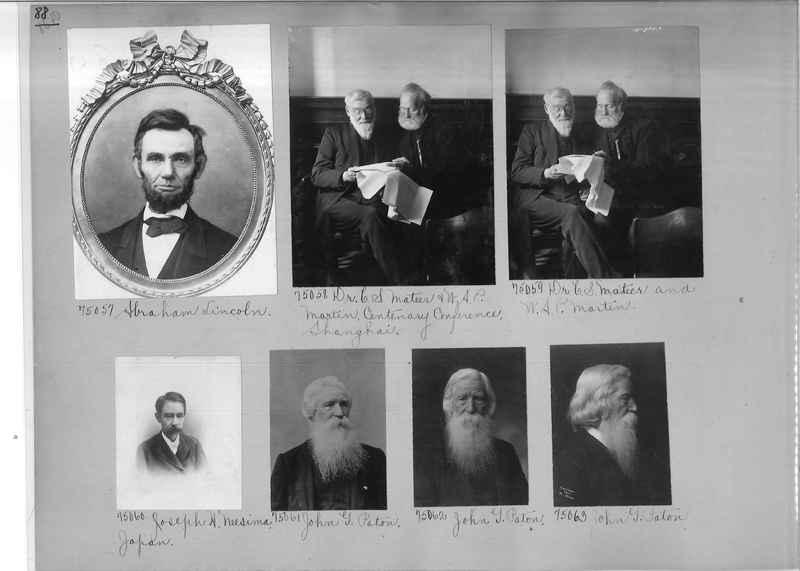 Mission Photograph Album - Portraits #3 page 0088