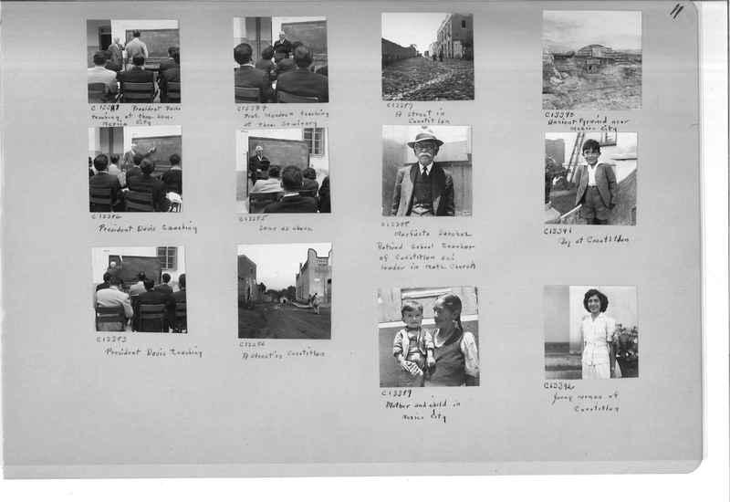 Mission Photograph Album - Mexico #09 Page 0011