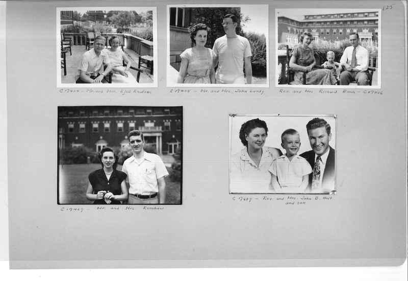 Mission Photograph Album - Portraits #07 Page 0125