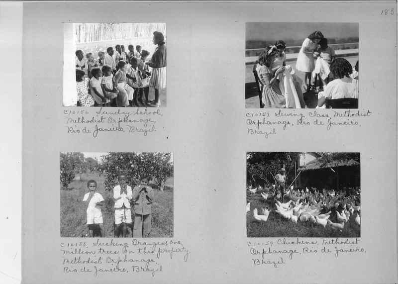 Misson Photograph Album - South America #8 page 0183