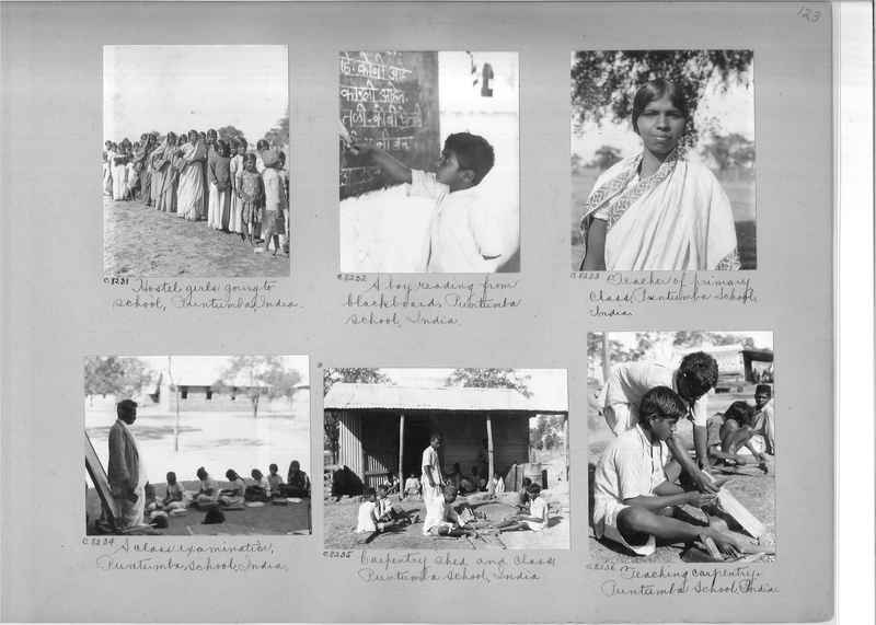 Mission Photograph Album - India #13 Page 0123