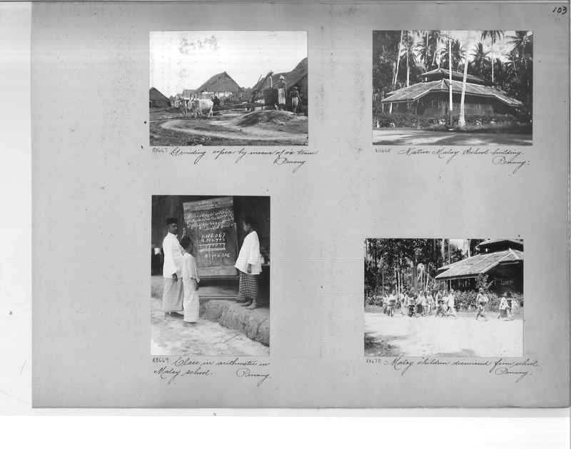 Mission Photograph Album - Malaysia #6 page 0103