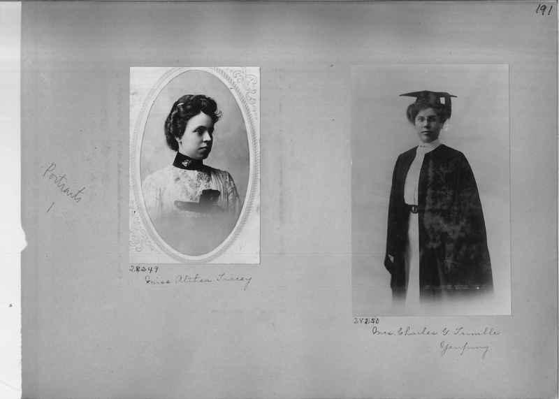 Mission Photograph Album - Portraits #1 page 0191