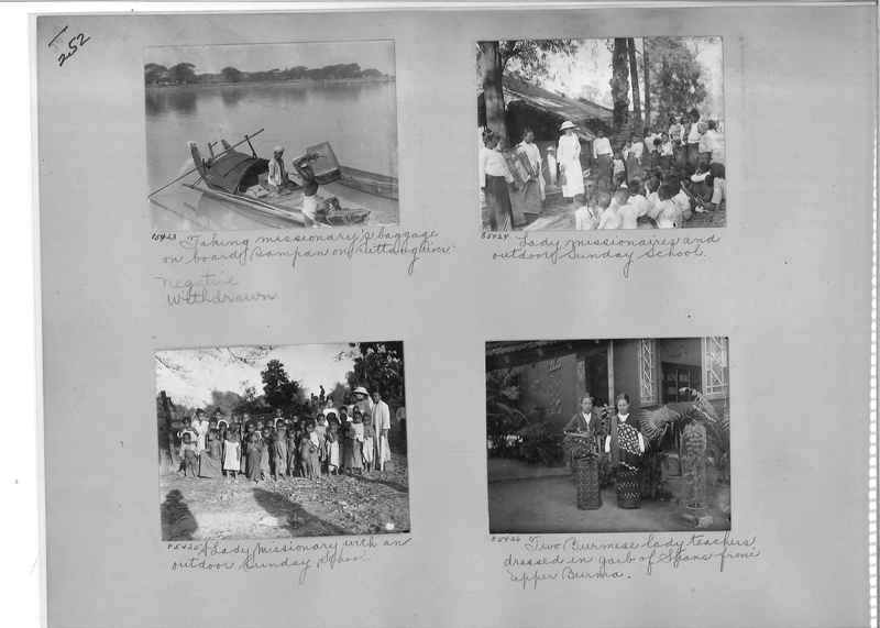Mission Photograph Album - Burma #1 page 0252