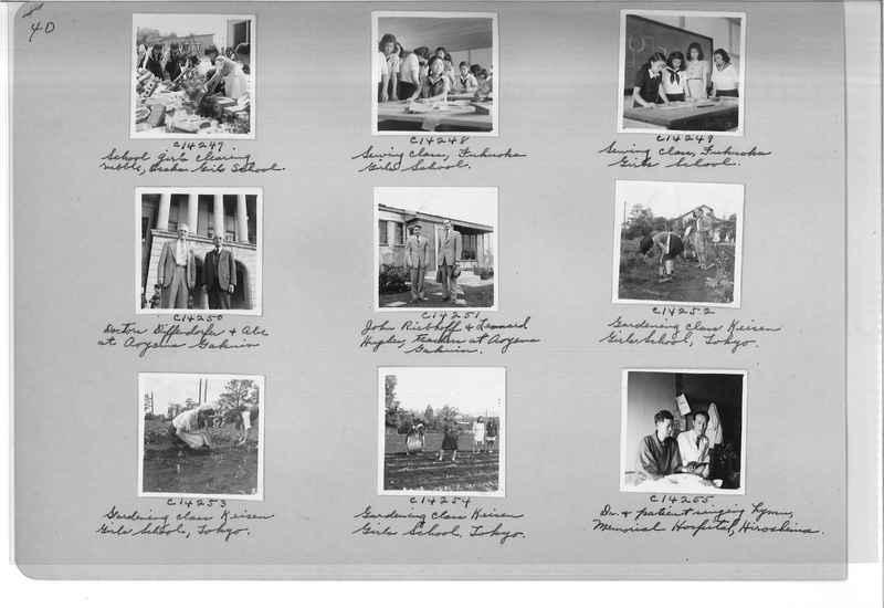 Mission Photograph Album - Japan #07 Page 0040