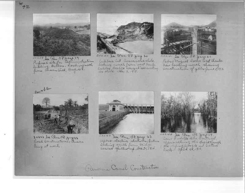 Mission Photograph Album - Panama #1 page  0092