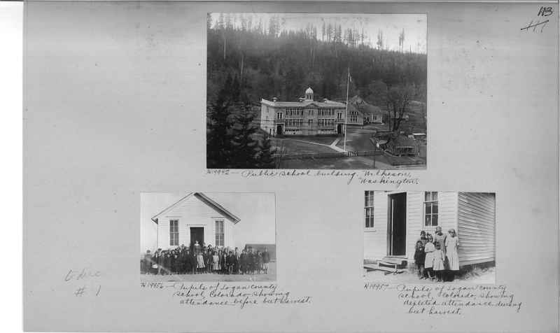 Mission Photograph Album - Education #1 page 0113