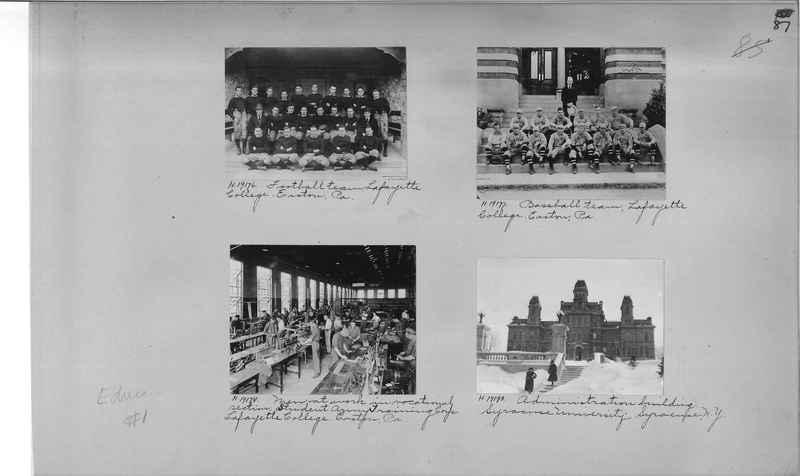 Mission Photograph Album - Education #1 page 0087