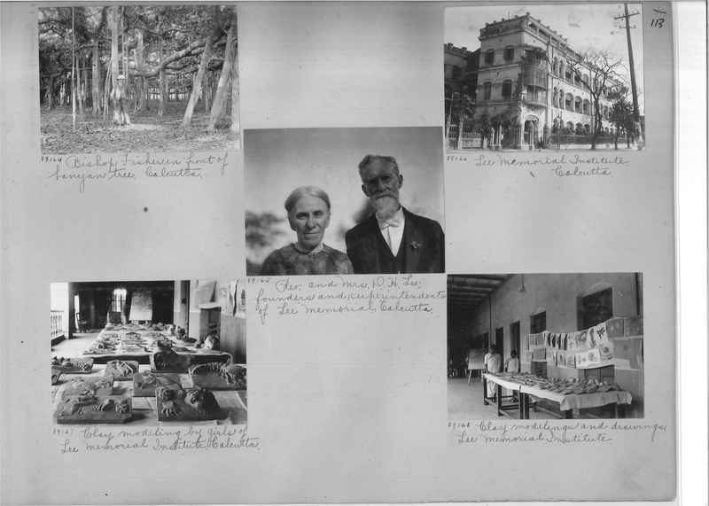 Mission Photograph Album - India #10 Page 0113