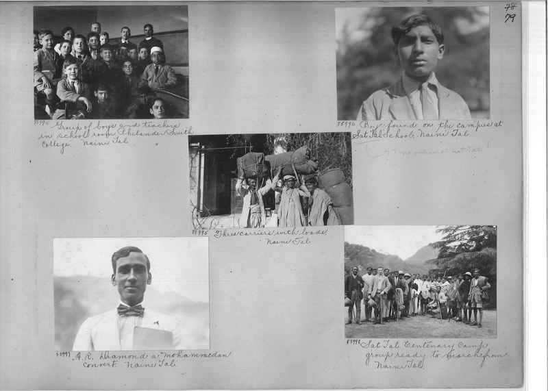 Mission Photograph Album - India #10 Page 0079