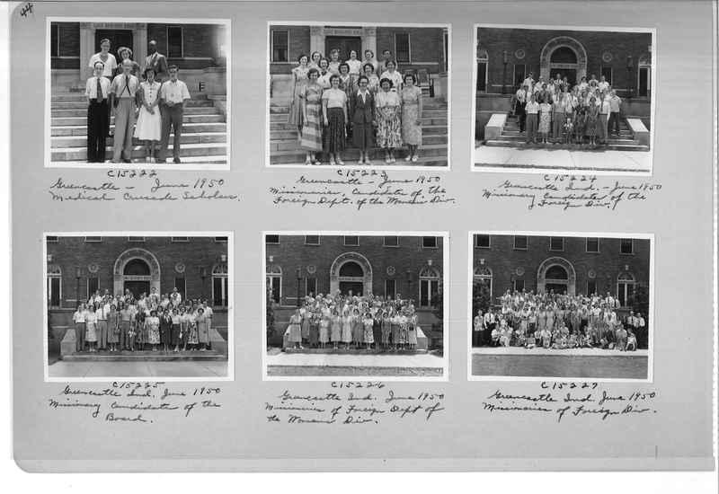 Mission Photograph Album - Portraits #07 Page 0044