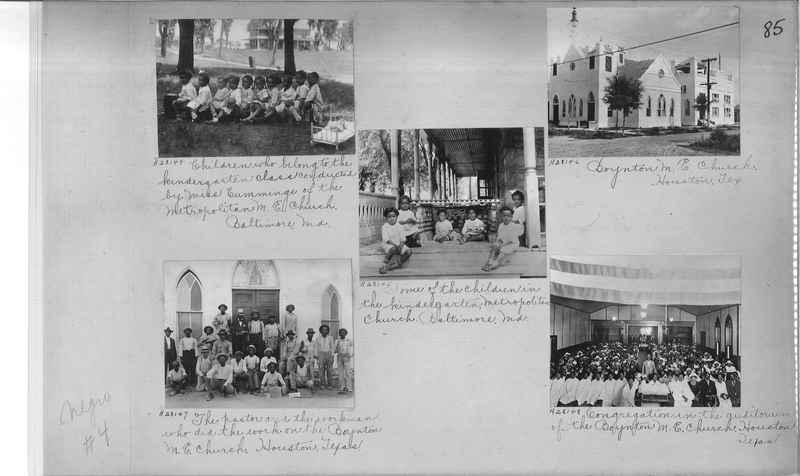 Mission Photograph Album - Negro #4 page 0085